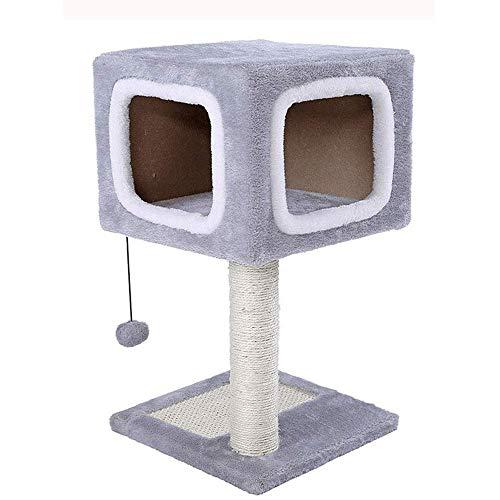 FTFTO Productos para el hogar Marco de Escalada para Gatos Poste de Agarre Nido de Gato pequeño Tablero de Agarre para Gatos Gato Que Salta Juguete para Gatos Torre para Gatos Suministros para Gatos