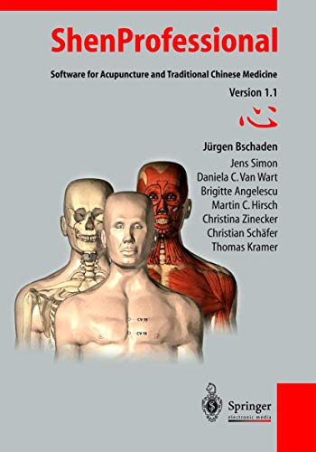 ShenProfessional, 1.1, 1 CD-ROMSoftware for Acupuncture and Traditional Chinese Medicine. For Windows 95 or higher.