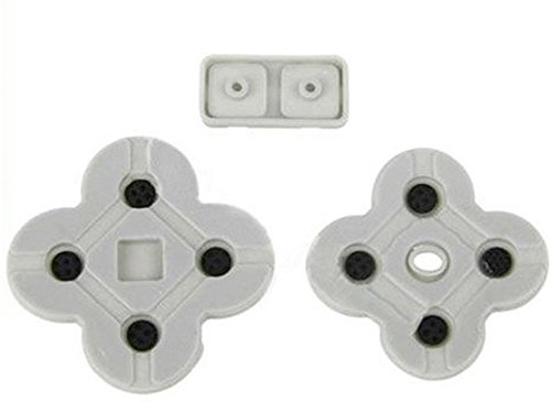 Conductive Rubber Button D Pads for Nintendo DS Lite NDSL DSL Replacement Repair Parts