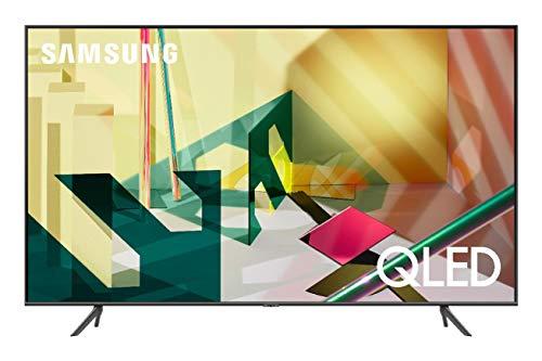 Samsung TV QE85Q70TATXZT Serie Q70T QLED Smart TV 85', con Alexa integrata, Ultra HD 4K, Wi-Fi, Black, 2020