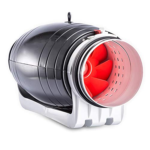 WXX Ventilador De Conducto Sobrealimentado Ultra Silencioso, Ventilador De Techo del Hotel, Ventilador De Ventilación De Circulación, Ventilador De Alta Potencia para Salón De Belleza