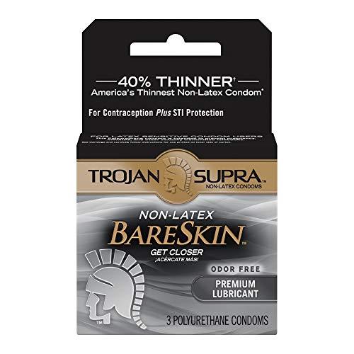 TROJAN SUPRA MICROSHEER LUB 3S [Health and Beauty]