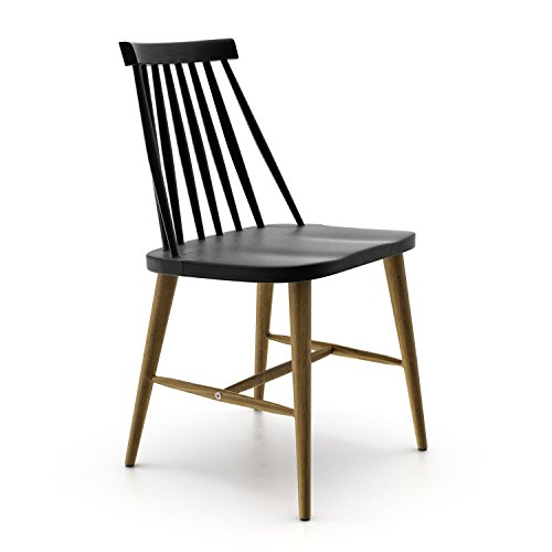 Aeon Furniture Dining Chair in Black Finish - Set of 2