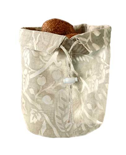 Bread Basket Bag and Warmer, European Design Inspired, Handmade