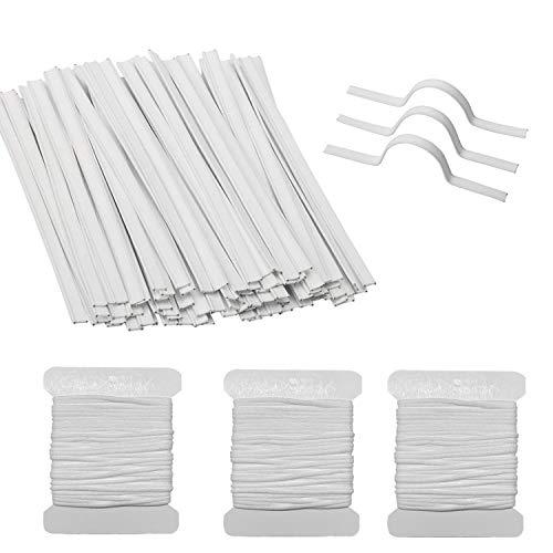 Corrines 100 tiras de plástico para la nariz, soporte de pu