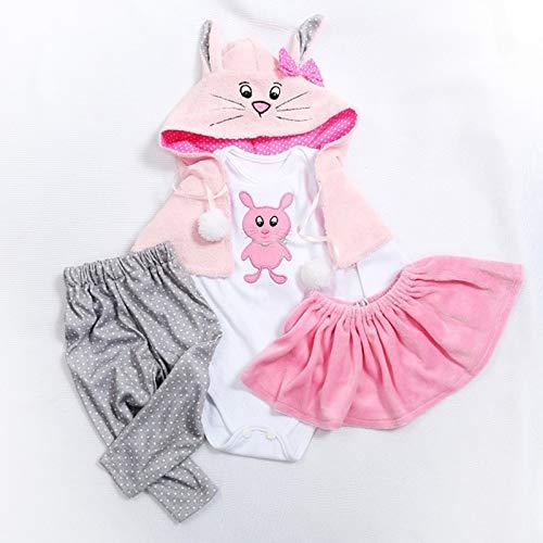 Terabithia 5 Stili Diversi Due Dimensioni 47 o 60cm Bambole Appena Nate di Alta qualità Vestire Bambolina rinata Tutti i Vestiti di Cotone