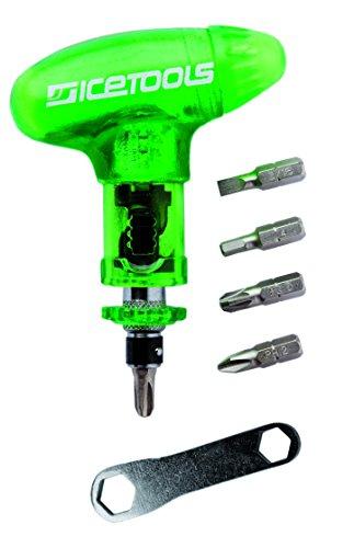 Icetools Cool Tool Komplett-Werkzeug für Snowboard/Skateboard, Unisex, Erwachsene, Hellgrün, Einheitsgröße