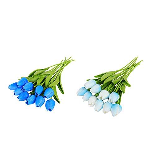 XINTAOSM Kunstblume 10 stücke Tulpen Künstliche Blume Tulipe Blumen (Color : Combination L)