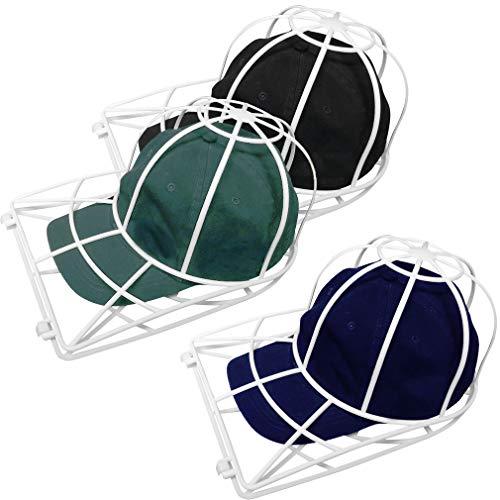 Evelots Ball Cap Cleaner-Washing Machine/Dish Washer-Trucker/Visor Hat-Set/3