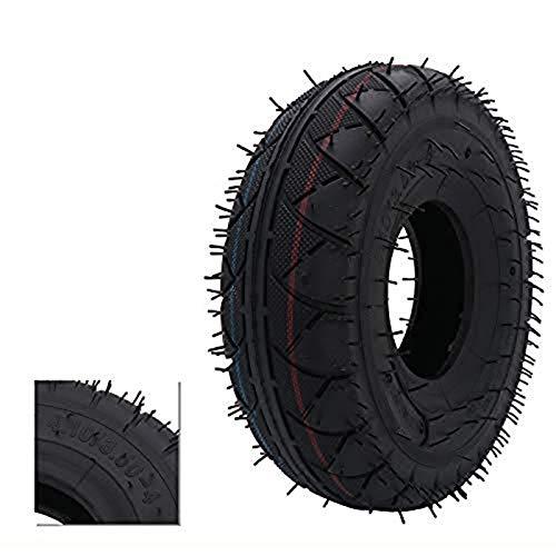 Repuesto de neumático de 4.10/3.50-4' para carretilla de mano, carro de utilidades, carro de jardín, soplador de nieve, cortacésped de césped, carretilla, generador y más, motocicleta, scooter, ATV