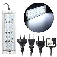 水槽ライト 水族館LED照明8000k水生植物成長ライト5730 SMD LEDランプ110〜240V US/EUプラグ (Color : A201 US Plug)