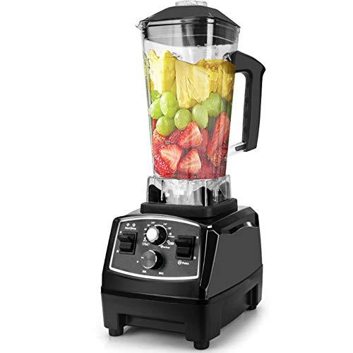 Smoothie Maker/Mixer, Frullatore Da Banco Jug Blenders Con Vaso Di Vetro Senza BPA E 6 Lame in Acciaio Inossidabile Robot Da Cucina Frutta Surgelata O Zuppe Calde,220V AU Plug