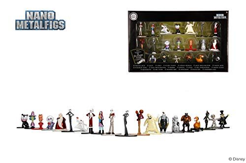 Jada- Nano MetalsFig Pack 20 Figuren Nightmare Before Christmas Multicolor (0801310301227) , Farbe/Modell Sortiert
