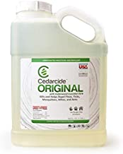 Cedarcide Original (Gallon) Personal and Fogging Biting Insect Spray Kills and Repels Fleas, Ticks, Ants, Mites and Mosquitoes | Formerly known as Best Yet