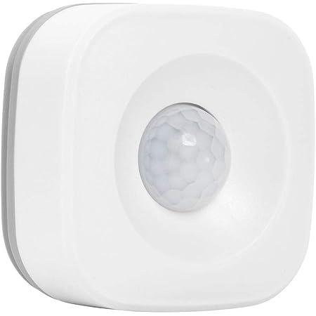 Bestlymood Inteligente ZigBee PIR Sensor de Movimiento Compatible con APP Tuya Smart Life IFTTT para  Echo 2Nd Plus Trabaja con Hub de Plataforma Tuya