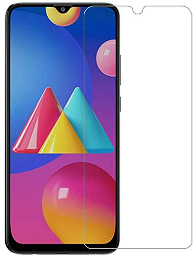 PRASO TECH® Tempered Glass Screen Protector Compatible for Samsung Galaxy M42 5G / M12 / M02s / M02 / A12 / F12 / A02 / A02s with Full Screen Coverage (Except Edges) with Easy Installation kit (Transparent)