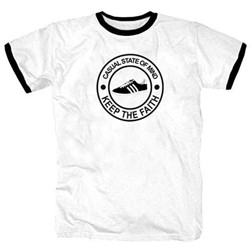 Camiseta informal de fútbol, diseño de Ultras Blanco L
