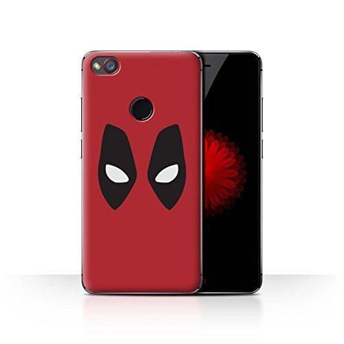 Hülle Für ZTE Nubia Z11 Mini Superheld Comic-Kunst Deadpool Maske Inspiriert Design Transparent Ultra Dünn Klar Hart Schutz Handyhülle Case