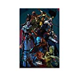 SDFGW Dead by Daylight Gaming Posters Wall Art Posters for Room Aesthetic Poster Decorative Painting Canvas Wall Art Living Room Posters Bedroom Painting 08x12inch(20x30cm)