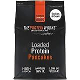 THE PROTEIN WORKS Loaded Tortitas Proteicas | Alto En Proteínas, Bajo Ig, Mezcla De Tres Proteínas | Cookies 'N' Cream 1kg