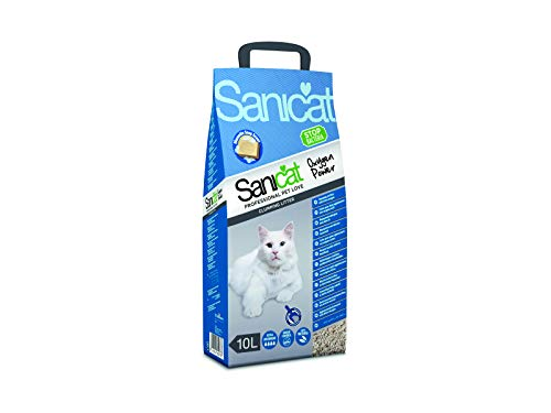 SANICAT Oxygen Power, Arena de Gatos Absorbente - 10L