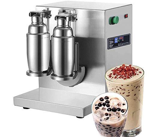 Fayelong Frullatore per tè elettrico Latte Agitatore Macchina per cocktail e bevande Mixer latte Acciaio inossidabile