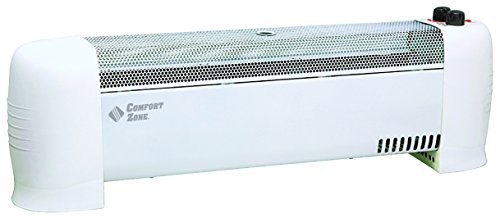 CCC Comfort Zone, HEATER CONVECTION BASEBOARD, White