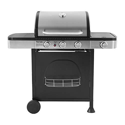 Happy Garden Barbecue au gaz Dallas - 3 + 1 brûleurs avec thermomètre