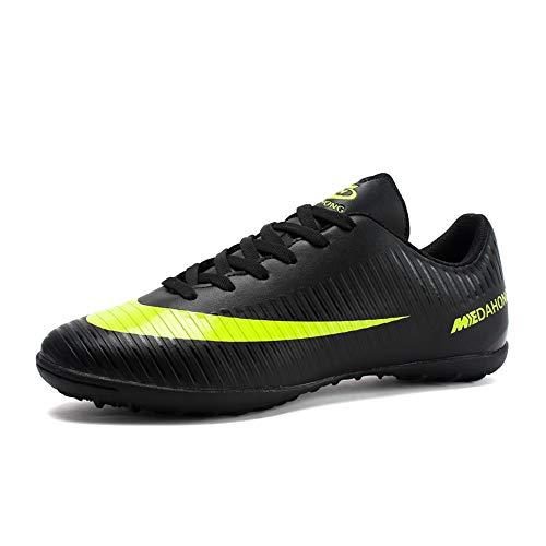 Botas de Fútbol para Niños Hombre FG/AG Zapatos de Fútbol Niñas TF Zapatillas de Entrenamiento para Adolescentes