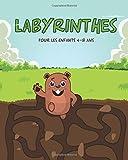Labyrinthes Pour Les Enfants 4-8 ans: Labyrinthes Difficiles et Amusants Pour Les Enfants Intelligents/ Grand Livre De Jeu Pour Les Enfants.