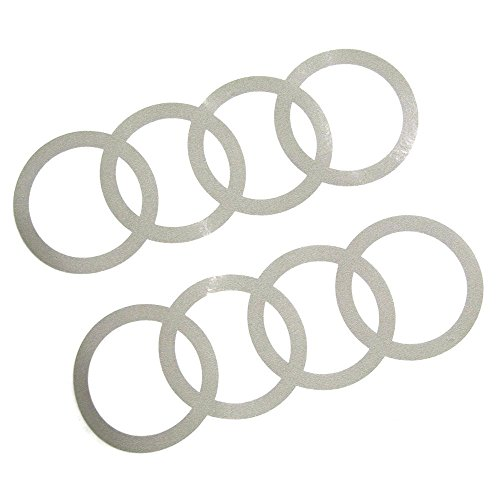 Audi 8W0064317B Dekorfolien Ringe florettsilber