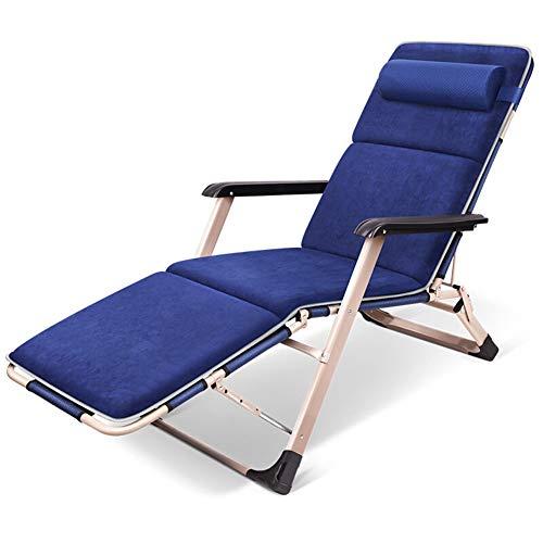 GSS kruk Pigro loungebank lounger inklapbaar tuinstoel ademend kunstvezel comfortabele stoel zonnebed Outdoor tuinstoel met hoofdsteun elegant design
