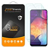 (3 Pack) Supershieldz for Samsung Galaxy A50 Tempered Glass Screen Protector, Anti Scratch, Bubble Free