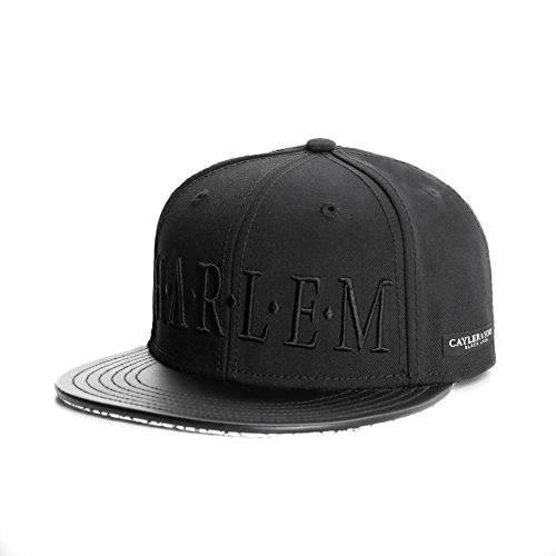 Cayler And Sons - Casquette Snapback Homme BL Harlem Cap - Black/White