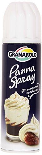 Granarolo - Panna Spray, Gia' Montata e Zuccherata, 250 g