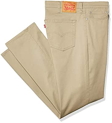 Levi's Men's Big and Tall 541 Athletic Fit Jean, True Chino - All Seasons Tech - Stretch, 42W x 34L from Levi's