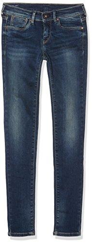 Pepe Jeans Mädchen Pixlette Jeans, Blau Denim_T48, 16 Jahre