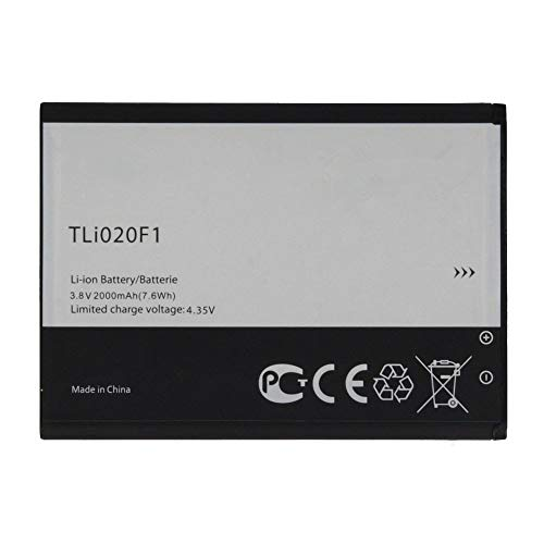 Uniamy TLi020F1 - Batería interna de repuesto para Alcatel One Touch Pop C7, One Touch Pop C7 Dual, OT-7040, OT-7040D, OT-5042T, OT-5042D, OT-5042W