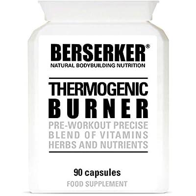Berserker T5 Thermogenic Burner 90 Capsules (V) (3 Months Supply) High Strength Weight Loss Fat Burner Capsules for Men and Women