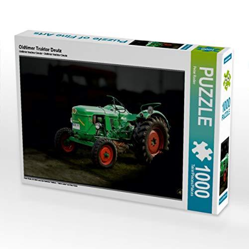 CALVENDO Puzzle Oldtimer Traktor Deutz 1000 Teile Lege-Größe 64 x 48 cm Foto-Puzzle Bild von Peter Roder