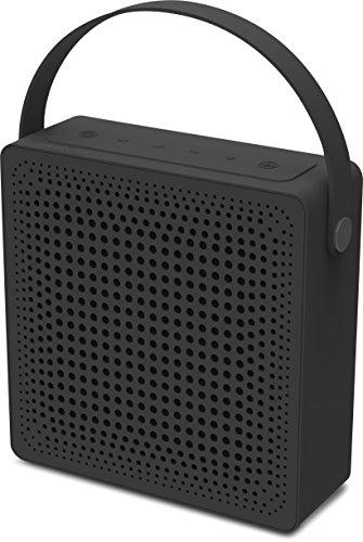 Speedlink Playawave Outdoor Bluetooth-Lautsprecher (bis zu 12 St&en Spielzeit, staubgeschützt, spritzwassergeschützt nach IP-Schutzklasse 65) schwarz grau