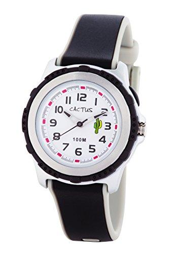 [カクタス] 腕時計 10気圧防水 ライト付 CAC-78-M01 正規輸入品 ブラック