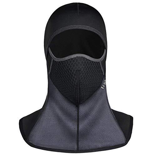 Passamontagna Balaclava Berretto Antivento Face Mask Multifunzione Moto Abbigliamento Berretto Invernale Sciarpa Maschera da Sci Bicicletta Copricapo per Sci Caccia Snowboard Ciclismo