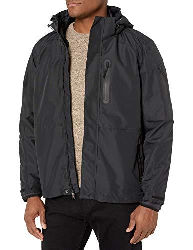 HFX Men's 3 in 1 Systems Jacket, Black, Medium