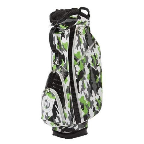 Learn More About OUUL Alligator Camo 14 Way Cart Bag Green