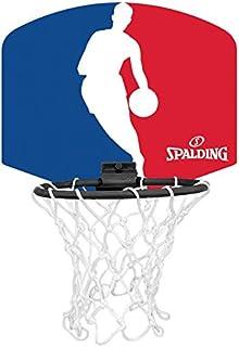 MIni canasta de Spalding con logo de la NBA (77–602Z)