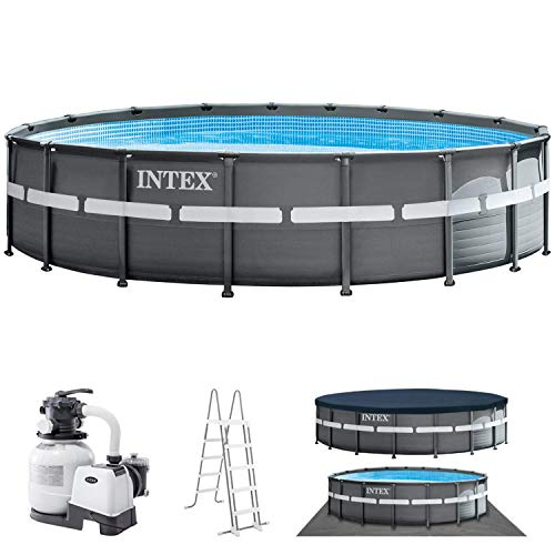 Intex Piscine Hors Sol Ultra XTR Frame Pool 549 x 132 cm 26330
