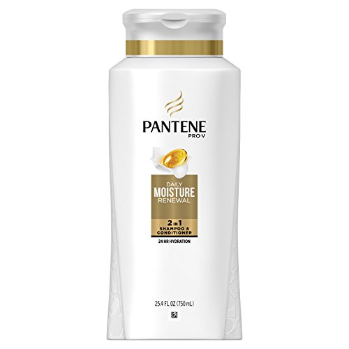 Pantene Pro-V Daily Moisture Renewal 2 in 1 Shampoo & Conditioner, 25.4 fl oz