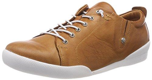 Andrea Conti Damen 0345724 Sneaker, Braun (Cognac), 40 EU