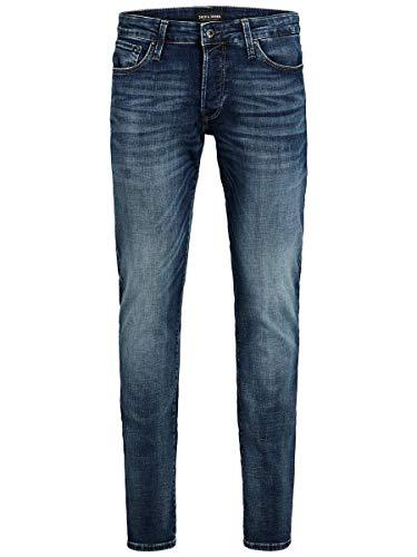 JACK & JONES Male Slim Fit Jeans Glenn Con 057 50SPS 3434Blue Denim